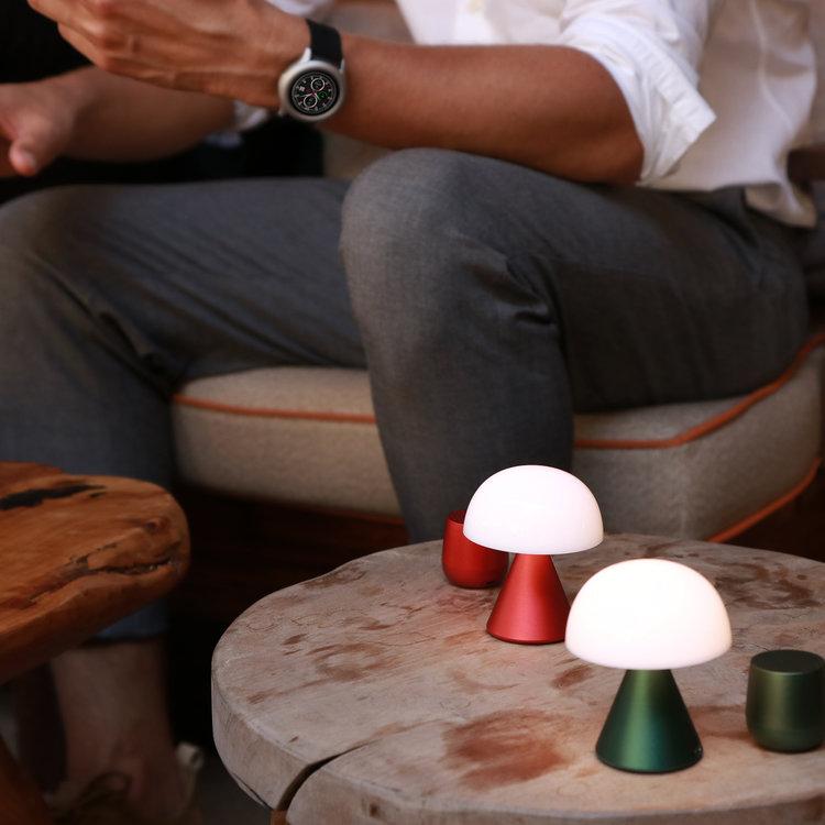 Lexon Lexon mini lamp Mina groen