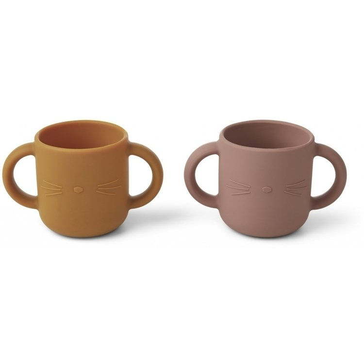 Liewood Liewood set 2 mugs Gene cat
