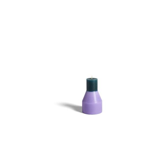 HAY HAY kaars Pillar S lavendel