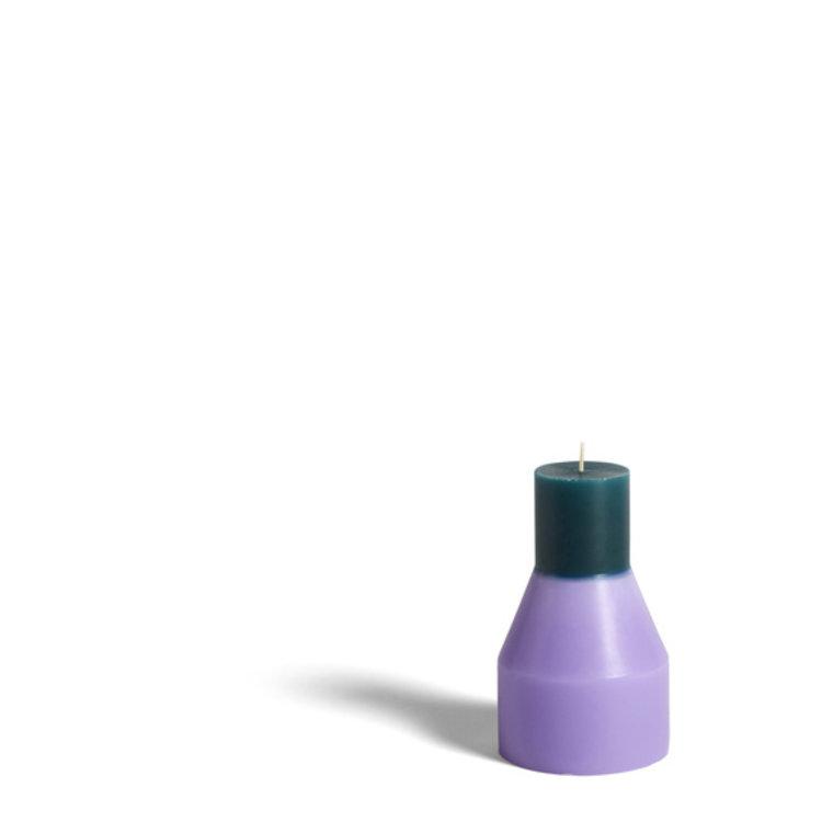 HAY HAY kaars Pillar klein lavendel