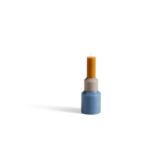 HAY HAY kaars Pillar M blauw