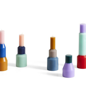 HAY HAY kaars Pillar medium mint