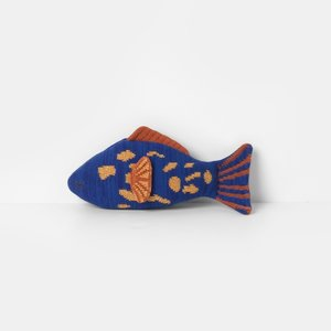 ferm LIVING Fruiticana Leopard fish blue