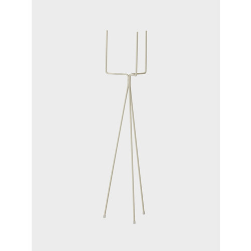 ferm LIVING Plant stand high light grey
