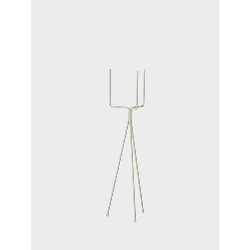 ferm LIVING Plant stand low light grey