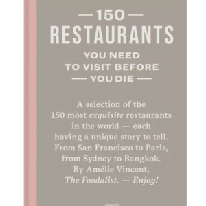 Boek 150 restaurants you need to visit