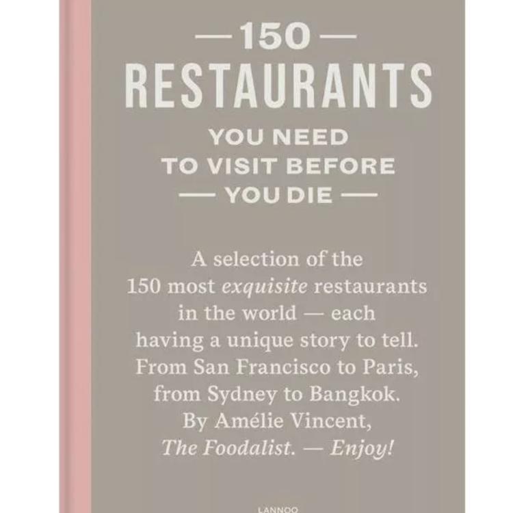Boek 150 restaurants you need to visit