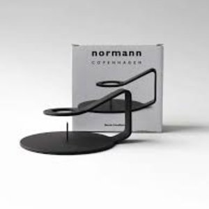 Normann Copenhagen NC candlestick Nocto black