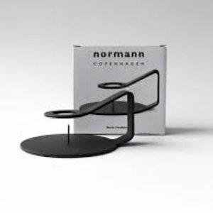 Normann Copenhagen NC kandelaar Nocto zwart