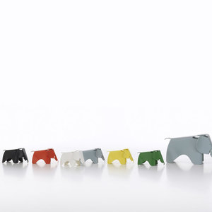 Vitra Vitra Eames olifant zwart klein
