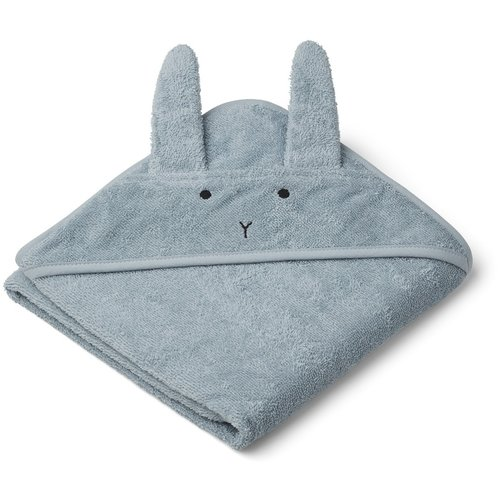 Liewood Bath cape Albert Rabbit sea-blue