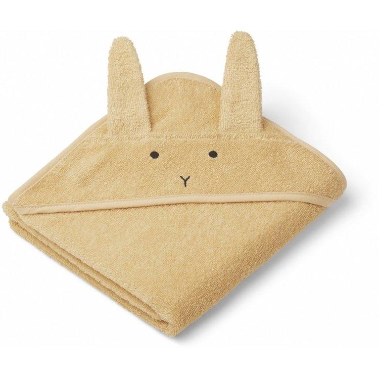 Liewood Liewood bath cape Albert Rabbit yellow