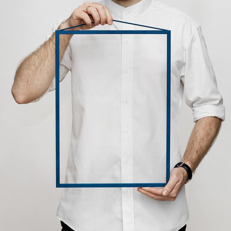 Moebe Moebe frame A3 blue