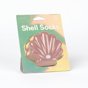 DOIY Shell Socks pink