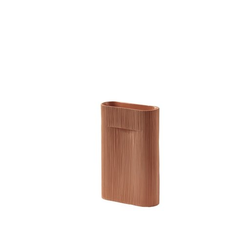 Muuto Muuto Ridge Vase small terracotta