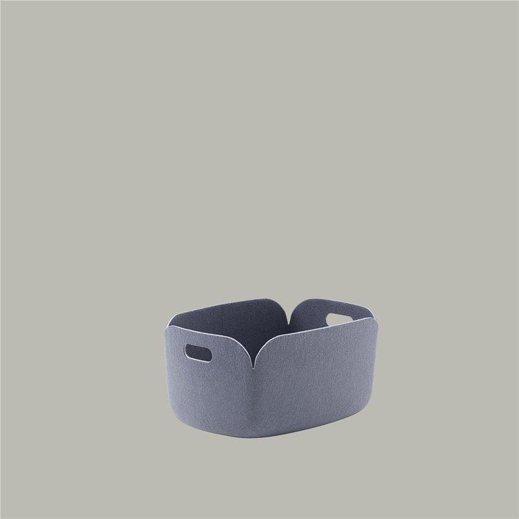 Muuto Muuto Restore Basket blue-grey