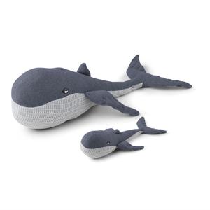 Liewood Doby Teddy met baby walvis knuffel