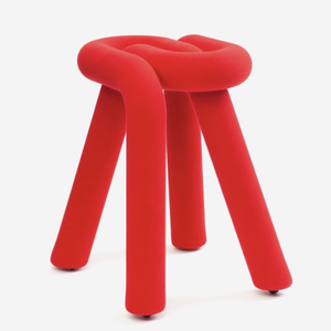 Moustache Moustache Bold Stool red