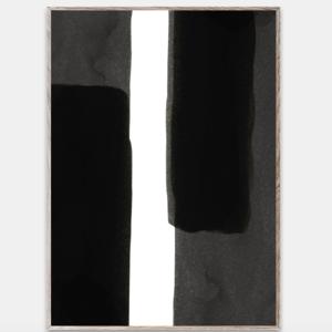 Paper Collective Print Enso black 01 30x40cm