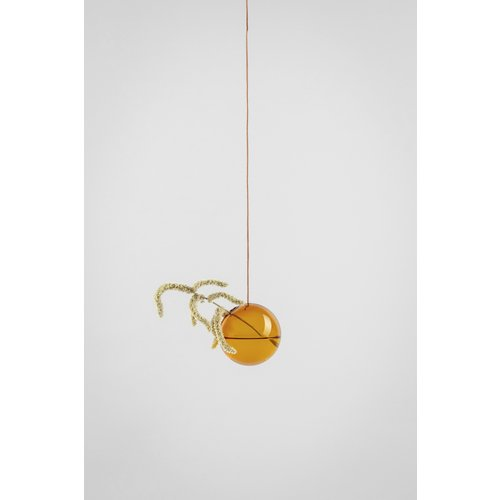 Studio About Flower bubble hang klein amber