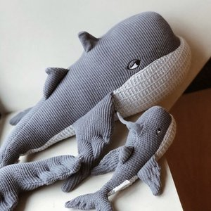 Liewood Liewood Doby Teddy with  baby whale