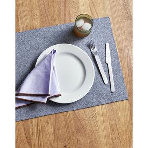 HAY Contour servet set van 4 lavendel