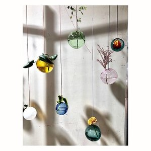 Studio About Flower Bubble hanging small green