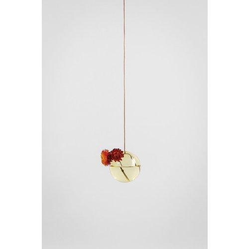 Studio About Flower bubble hang klein geel