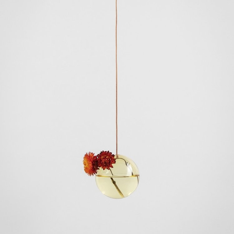 Studio About Flower Bubble hanging small yellow
