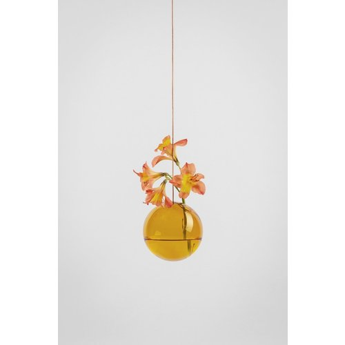 Studio About Flower Bubble hanging amber