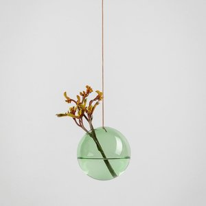 About Form And Function Flower Bubble hanging green