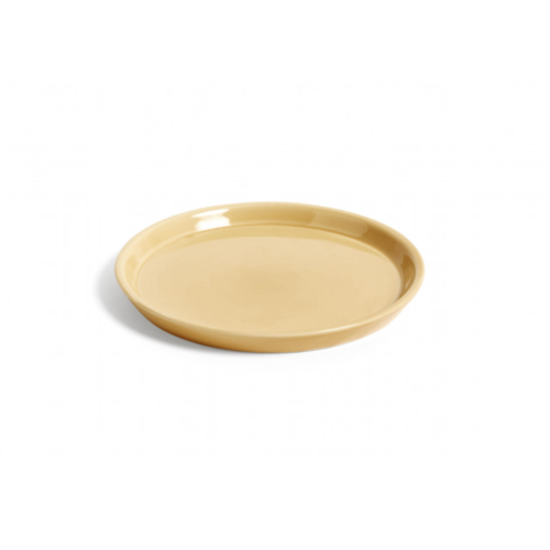 HAY Saucer for plant pot L yellow
