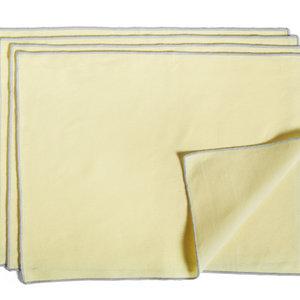 HAY HAY set 4 placemat Contour geel