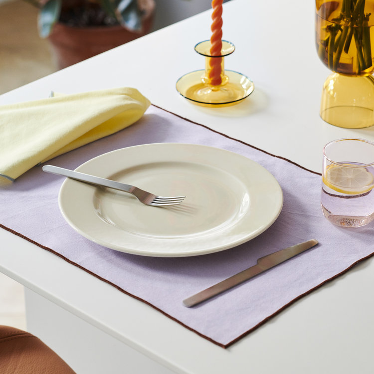 HAY HAY set 4 placemat Contour yellow