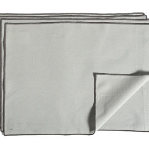 HAY Set 4 placemat Contour grey
