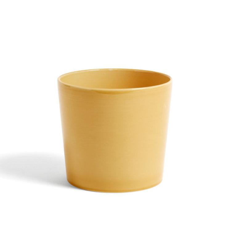 HAY HAY plant pot large yellow