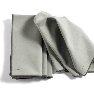 HAY HAY contour servet set of 4 grijs