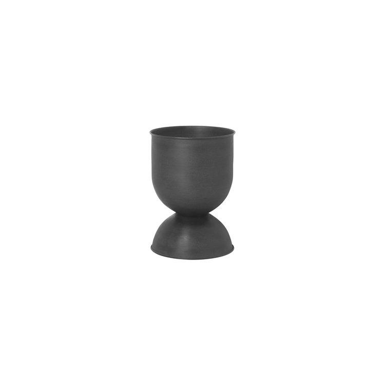 ferm LIVING ferm LIVING hourglass plantenpot  XS zwart