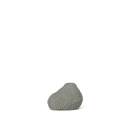 ferm LIVING Mini vase  Vulca grey dots