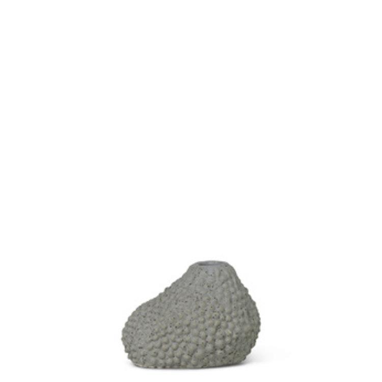 ferm LIVING Ferm LIVING mini vase  Vulca grey dots