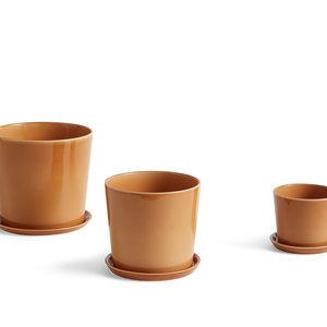 HAY HAY Saucer for plant pot L caramel