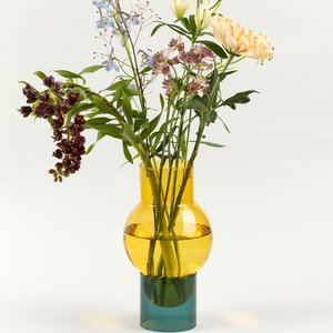 Studio About Bubble Tube vase big yellow