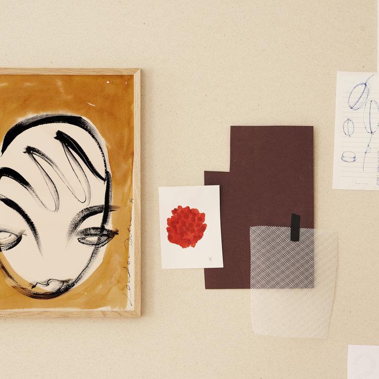 Paper Collective Paper Collective print La Nuit 30x40