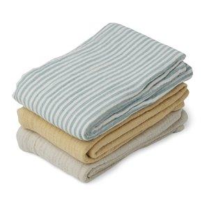 Liewood Liewood 3-pack muslin cloth line