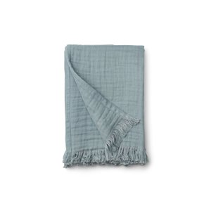 Liewood Magda muslin blanket - Sea blue