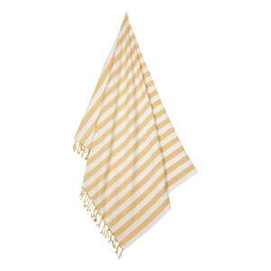 Liewood Mona beach towel yellow