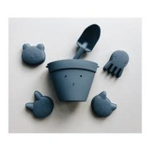 Liewood Liewood Dante Beach Set rabbit blue