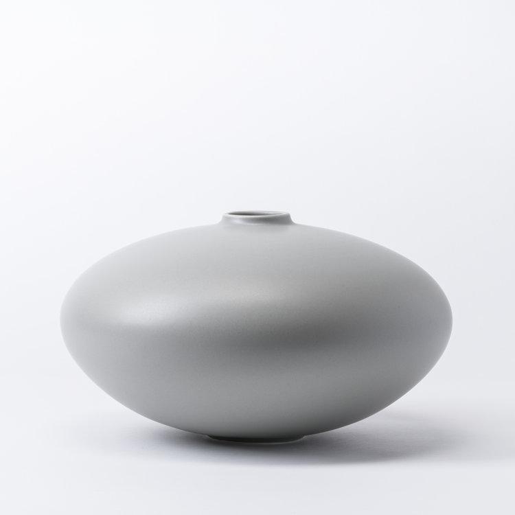 raawii Alev vase 02 large misty grey
