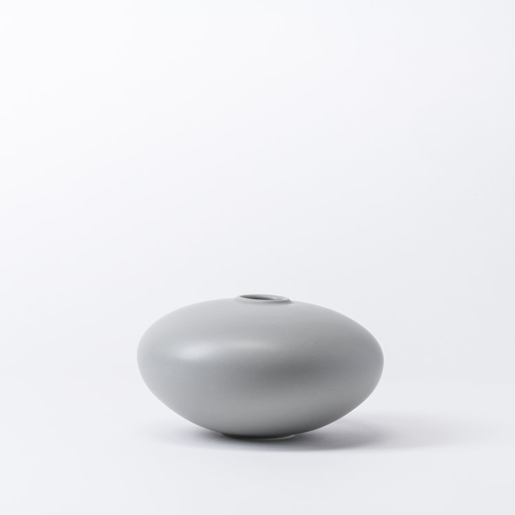 raawii Alev vase 02 small misty grey