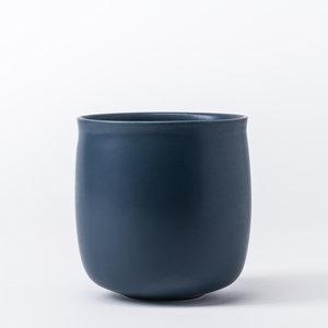 raawii Alev vase 01 twilight blue
